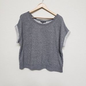 Victoria's Secret crop short sleeve sweatshirt